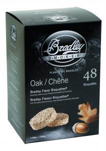 Rökbriketter Ek 48-pack för Bradley Smoker.