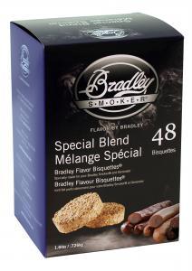 Specialblandning rökbriketter för Bradley hos Smart Fritid!