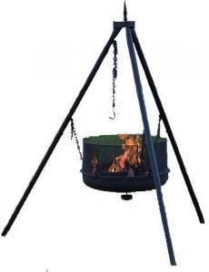 Braspanna från Espegard för dig som vill laga mat ute i friluftsgrill som är portabel.