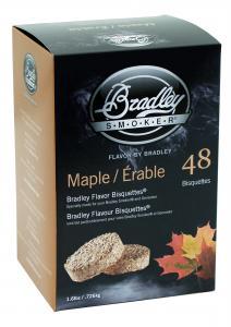 Lönnbriketter 48-pack rökbriketter från Bradley Smoker