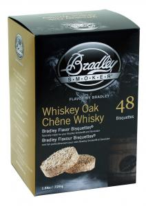 Whiskey-Ekbriketter för Bradley Smoker - 48-pack hos Smart Fritid.