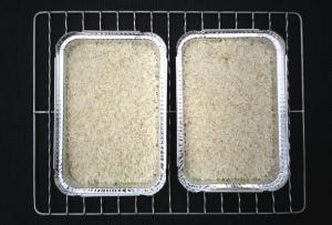 Rökt ris - och svampfylld paprika