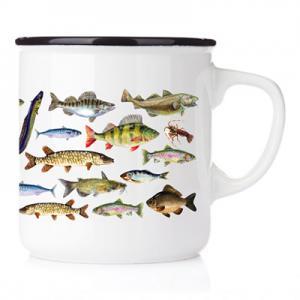Emaljmugg fiske