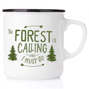 Emaljmugg The forest is calling