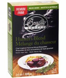 Jägarblandning 24-pack - rökbriketter för Bradley Smoker