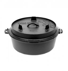 Valhal Outdoor Dutch Oven / Fältugn 6,1 liter utan ben