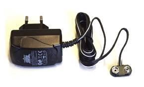 Batteriadapter för elektroniskt kodlås till ditt säkerhetsskåp.